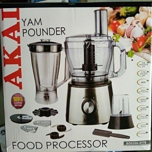 Yam Pounder & Food Processor