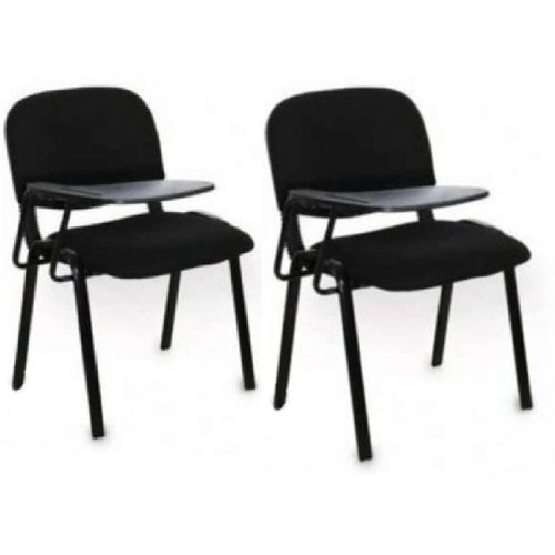 4 Legs Classroom Writing Chairs With Pad Set Of Two
