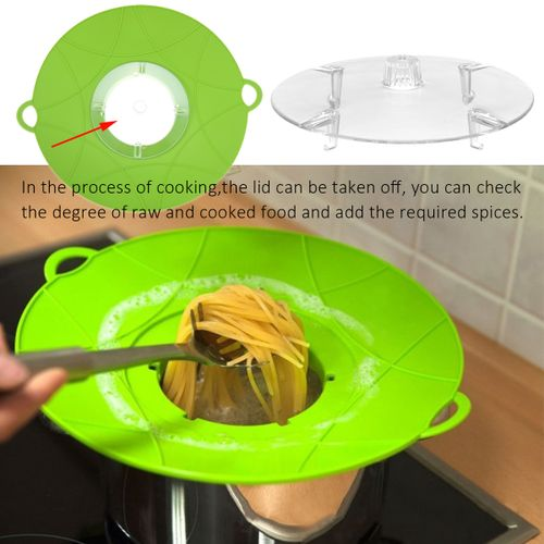 Silicone Spill Boil Stopper Lid Kitchen Cooking Cookware