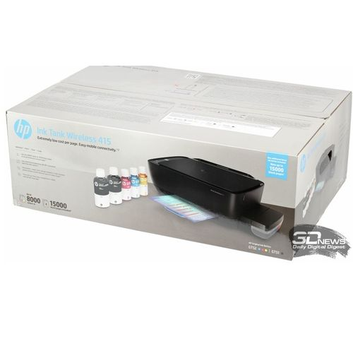 Ink Tank Wireless 415 MFP With CISS For Photos And Documents