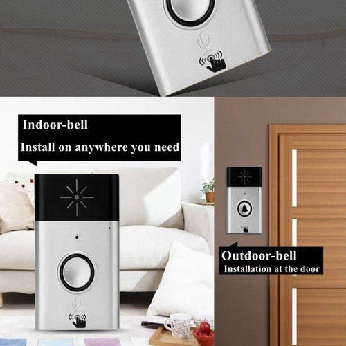 Wireless Smart Talk Back Doorbell Voice Intercom Door Bell Home Control