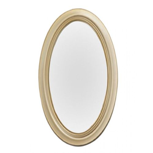 Champagne Gold Oval Shaped Mirror
