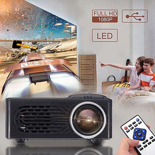 7000 Lumen HD 1080 P Proyektor LED Portabel Multimedia Bioskop Rumah Video US Plug