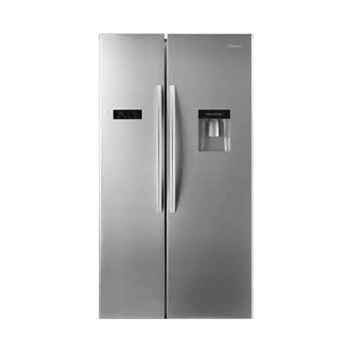 REF 67 WSBG Side By Side Refrigerator With Water Dispenser - Black Mirror