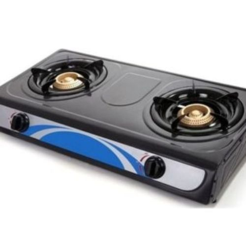 Double Burners Table Top Gas Cooker Amaze