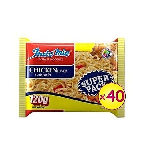 Super Pack Chicken Flavour - 120g X 40 Packs