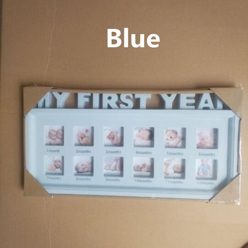 Baby Growth Photo Frames 12 Months Picture Display Keepsake