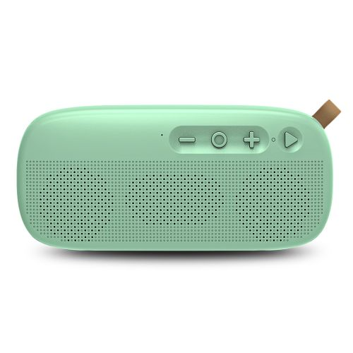NewRixing NR - 4012 Waterproof Wireless Bluetooth Speaker Stereo Sound Player-AQUAMARINE