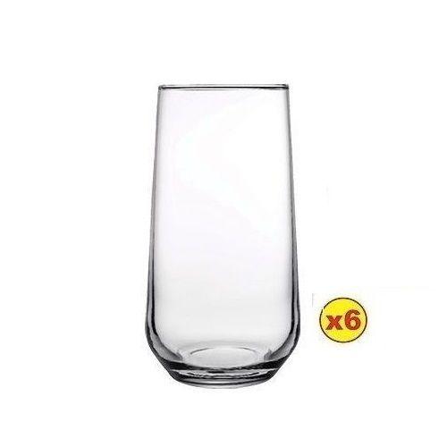 Allegra Long Drink Glassware Set - 6pcs (470cc)
