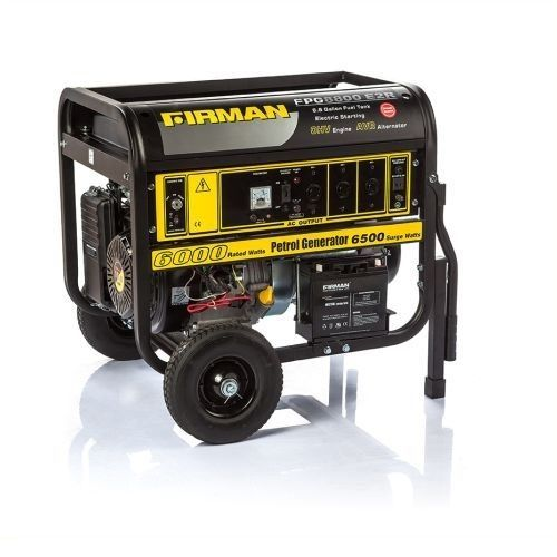 Firman 6.6KVA Generator - FPG8800E2 100%copper
