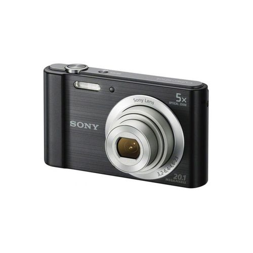 DSC-W800 20.1MP 5x Optical Zoom Compact Camera - Black