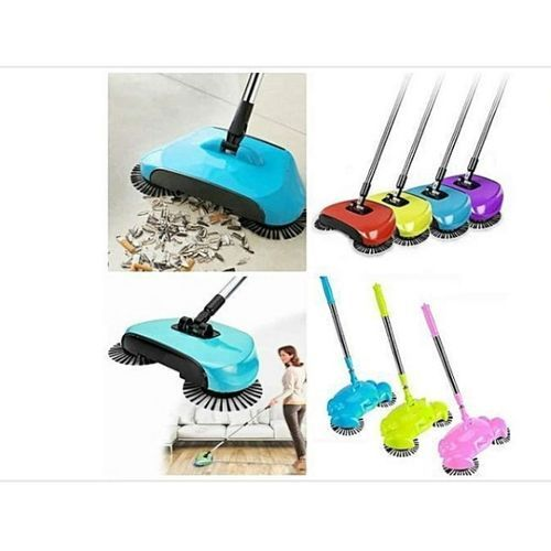 Magic Sweeper Automatic Spinning Broom And Vacuum Cleaner (multicolor)