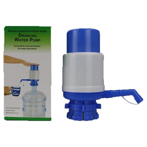 MT Medium Bott Water Hand-pressed Water Dispenser Pure Water Manual Water-Blue