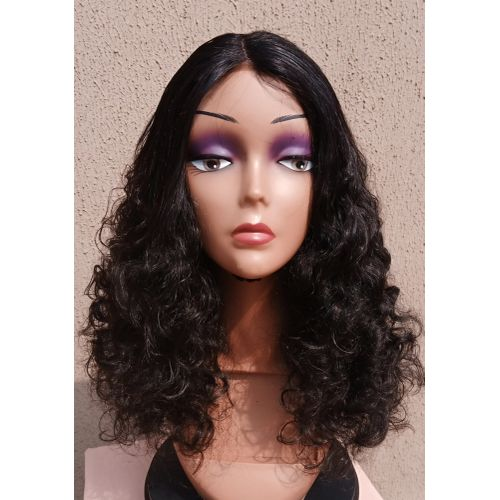 Bouncy Wave Wig With Closure