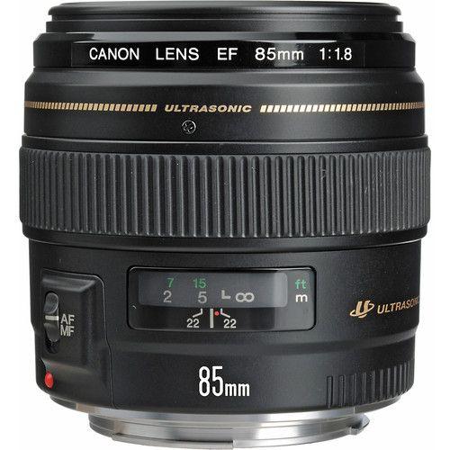 Ef 85mm F/1.8 Usm Black