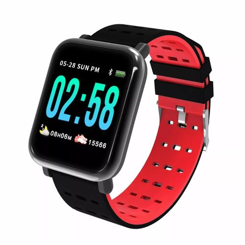Sports Smart Watch With Heart Rate And BP Monitoring