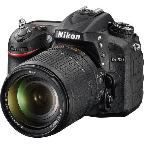 D7200 DSLR Camera With 18-140mm VR Lens - Black