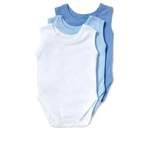 New Born Baby Bodysuit Sleeveless 3 In 1