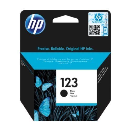 123 Black Ink Cartridge - F6V17AE