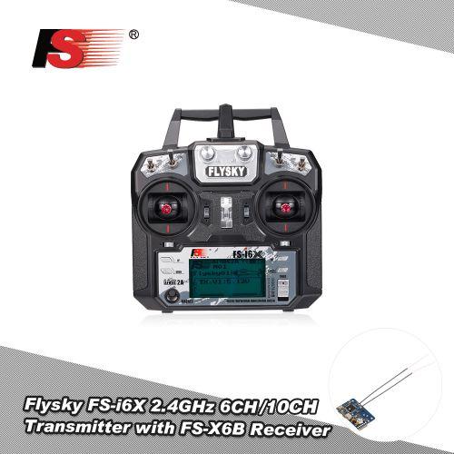 Flysky FS-i6X 2.4GHz 6CH/10CH AFHDS 2A RC Transmitter