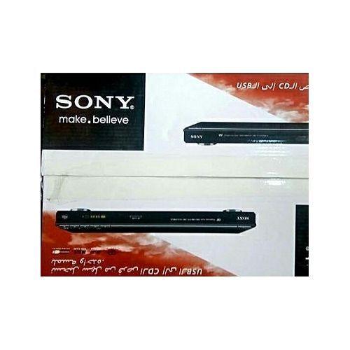 Sony DVD Player Black + USB Port Slim