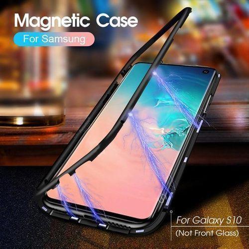 Samsung S8/S8PLUS/S9/S9PLUS/S10/S10PLUS Series Magnetic Metal Body Protector Case