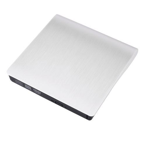 Equivalentt External Slim USB 3.0 DVD±RW DVD-ROM CD-RW DVD-RW Read Writer Burner Drive Play