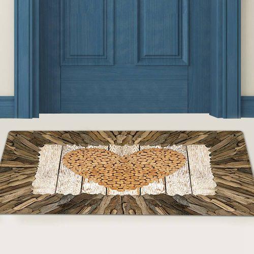 Anti-slip Water Absorbant Floor Mat Area Rug Home Living Room Bedroom Decorative Carpet