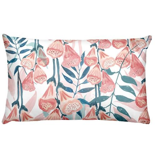 Flowers Birds Green Plants Printed Waist Cushions
