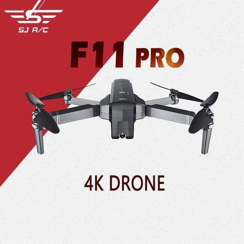 SJRC F11 PRO GPS WiFi FPV 4K Camera 25mins Flight Time Brushless