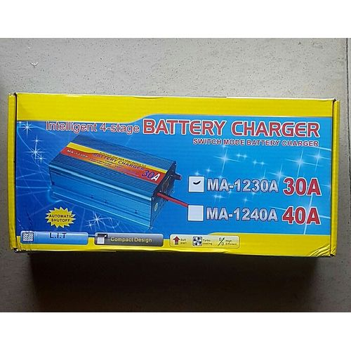 30A Car & Inverter Battery Charger