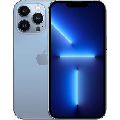 """IPhone 13 Pro Max 6.7"""" Super Retina XDR Display With ProMotion, (6GB RAM + 512GB ROM) IOS 15, 5G, FaceTime - Sierra Blue"""