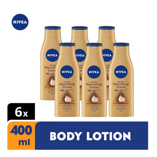 Nourishing Cocoa Body Lotion For Women - 400ml (Pack Of 6)