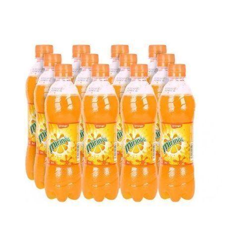 A Pack Of L Mirinda Orange Plastic Bottles