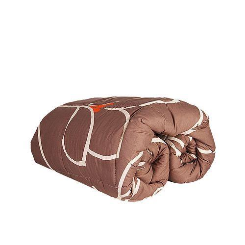 Complete Duvet - Brown Coloured, 100% Pure Cotton