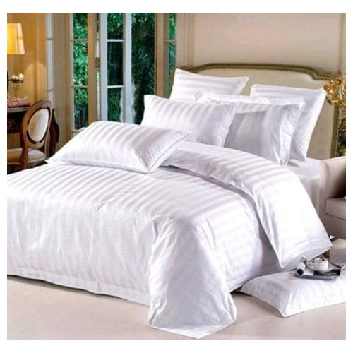 Duvet, +Bedsheets + Six Pillowcase