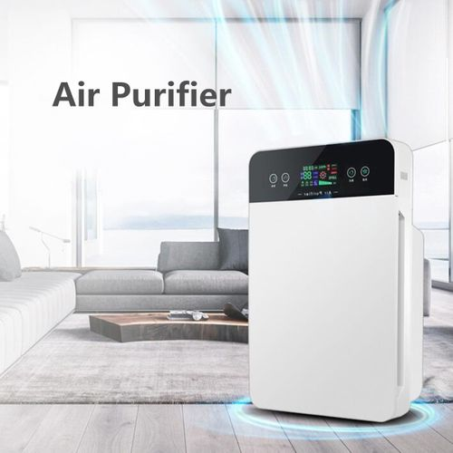 Portable Remote Control Air Purifier Cleaner Timer Dust Allergies
