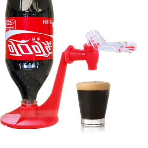 New Soda Dispense Gadget Coke Party Fizz Saver Dispenser Water Machine Reusable