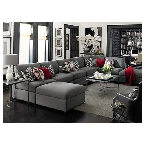 Wellington U-shaped Sofa Set-Free Pillow-Free Lagos Delivery