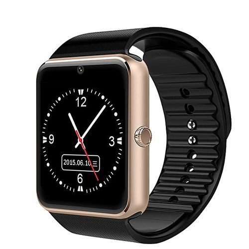 Smartwatch GT08 With Camera SIM Card TF/SD Card Slot - Gold