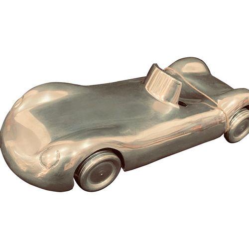 Stainless Steel Vintage Car Model