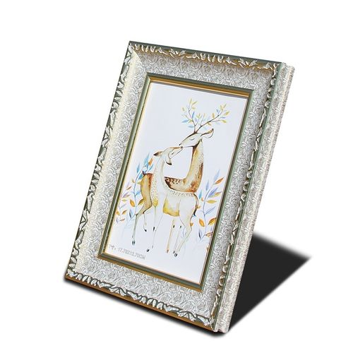 Photo Frame Painting Home Classic Vintage Frame Gold