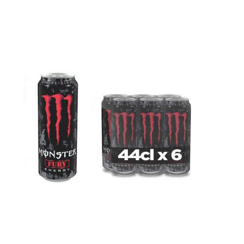 Monster Fury Energy Drink X6