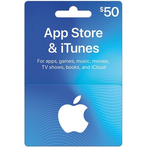 ITunes 50 USD Apple Store Credit