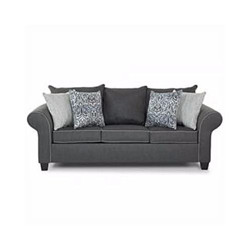 PAWA FURNITURE SUPER GRAY 7 Seater Sofa. 'ORDER NOW AND GET A FREE OTTOMAN'(Delivery To Only Lagos Costomers).
