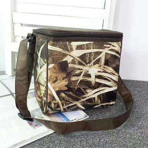 Functional Insulated Lunch Box Bag Picnic Zip Pack Waterproof Storage Handbag 7L