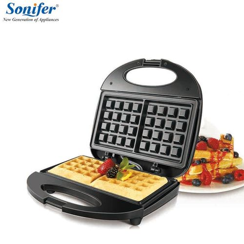 Sonifer Nonstick Waffle Maker (Black)