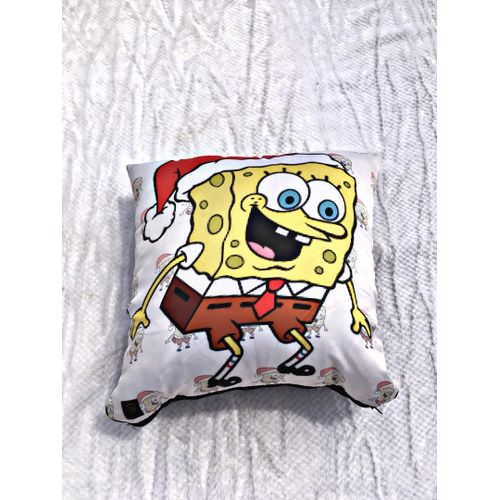 Sponge Bob Throw Pillow - White
