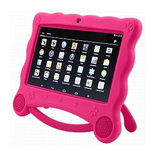 K8 Children Tablet 7'' Android 7.0 16GB ROM 1GB RAM(Pre-Installed Educational Apps)+Free Case &Gift