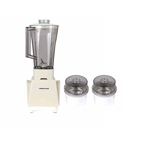 Electric Blender With Double Mill 1 Lt